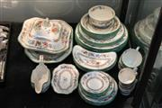 Sale 8340 - Lot 77 - Copeland Spode Chinese Rose Dinner Wares