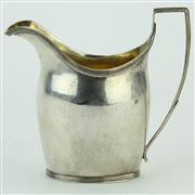 Sale 8372 - Lot 40 - English Hallmarked Sterling Silver Creamer (weight - 134g)