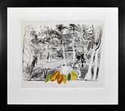 Sale 8401 - Lot 567 - Brett Whiteley (1939 - 1992) - The Garden in Sanur, Bali, 1980 60 x 80cm