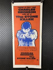 Sale 9003P - Lot 31 - Vintage Movie Poster - The Stone Killer