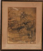 Sale 9032C - Lot 793 - Framed Chinese Mountain Print (35cm x 31cm) And A Series Of Other Unframed (10)