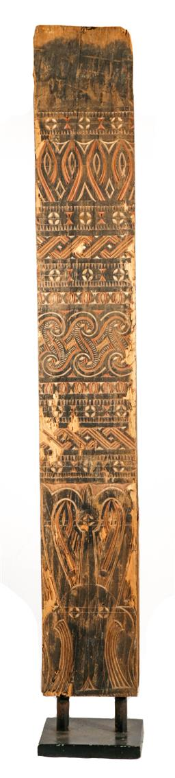Sale 9138 - Lot 138 - PNG Architectural Story Board on Stand (142cm x 20cm)