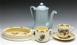Sale 9144 - Lot 173 - A small collection of Bunnykins wares Together with A Johnsons bros jug