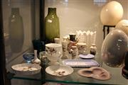 Sale 8112 - Lot 93 - Wedgwood Jasper Ware Dishes with Other Ceramics & Glass incl Coalport
