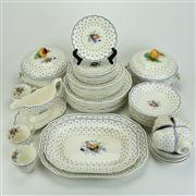 Sale 8413 - Lot 40 - Copeland Spode 'Spode's Polka Dot' Dinner Wares
