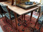 Sale 8697 - Lot 1586 - Vintage Parker Dining Table with Banded Edge