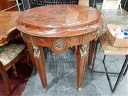 Sale 8904 - Lot 1022 - French Inlaid Centre Table