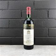 Sale 8987 - Lot 693 - 1x 1971 Chateau Mouton-Rothschild, 1er Cru Classe, Pauillac - level at mid-high shoulder, cellared marked label