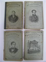 Sale 8125 - Lot 45 - Pugilistica - four of 20 parts of the illustrated early magazine, being numbers 8, 10 ,16, & 19. With good internals, plus the cover...