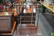 Sale 8299 - Lot 1032 - Metal Wine Rack