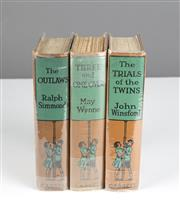 Sale 8530A - Lot 100 - Three volumes of various childrens novels, published by Cassell 1924