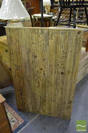 Sale 8550 - Lot 1182 - Set of 10 Recycled Elm Table Tops (120 x 80)