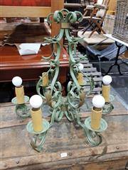 Sale 8697 - Lot 1607 - French Metal Candelabra