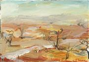 Sale 8751 - Lot 2010 - Val Landa (1940 - ) - Broken Hill Series III (Landscape) 19 x 28cm
