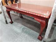 Sale 8744 - Lot 1046 - Coffee Table with Pie Crust Edge