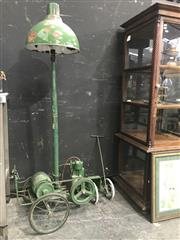 Sale 8787 - Lot 1015 - Up-Cycled Generator/Floor Lamp