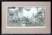 Sale 8402H - Lot 86 - Cartoonist, Rigby. Title Shhh, I think Im getting the earthquake, but I just cant pick up the tidal wave. Together with An awfu...