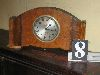 Sale 7504A - Lot 8 - CONTINENTALE EXTRA DECO STYLE CLOCK