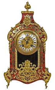Sale 7978 - Lot 69 - French Japy Freres Boulle & Ormolu Clock