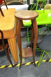 Sale 8019 - Lot 1023 - Timber Plant Stand