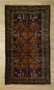 Sale 8585C - Lot 6 - Vintage Persian Baluchi 270cm x 160cm