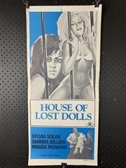 Sale 9003P - Lot 35 - Vintage Movie Poster - House of Lost Dolls