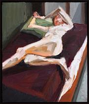 Sale 8401 - Lot 508 - Robert Malherbe (1965 - ) - Studio Nude II, 2004 66 x 56cm
