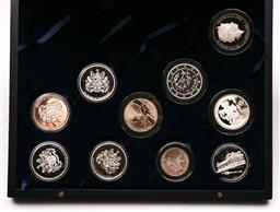 Sale 9119 - Lot 29 - A collection of silver coins incl Olympics and 175 years of Melbourne medallions