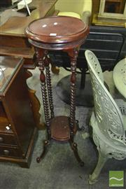 Sale 8312 - Lot 1071 - Barley Twist Plant Stand