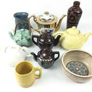Sale 8545N - Lot 216 - Assortment of Teapots and other Ceramic Items (10)