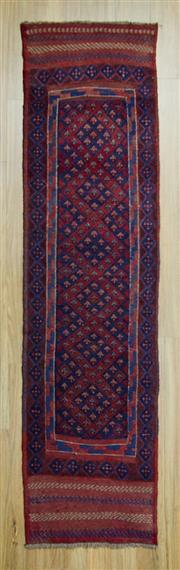Sale 8585C - Lot 8 - Persian Baluchi Runner 270cm x 60cm