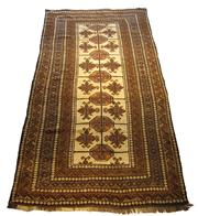 Sale 8630A - Lot 81 - A Cadrys vintage Balouch knotted handspun wool rug, 270 x 145cm