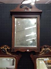 Sale 8740 - Lot 1638 - Timber Framed Mirror