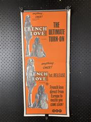 Sale 9003P - Lot 37 - Vintage Movie Poster - French Love
