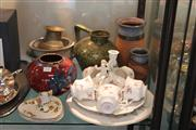 Sale 8189 - Lot 176 - Bendigo Pottery Vases with Other Ceramics incl. Unterweissbach