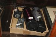 Sale 8346 - Lot 2376 - 2 Thermos + A Phone With Charger
