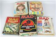 Sale 8419 - Lot 122 - Mad Magazines with Others