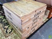 Sale 8550 - Lot 1405 - Set of 10 Recycled Elm Table Tops (60 x 60)