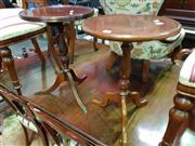 Sale 8657 - Lot 1019 - Pair of Matched Wine tables