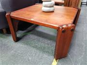 Sale 8669 - Lot 1042 - Pair of Post & Rail Coffee Tables