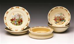 Sale 9119 - Lot 182 - A selection of Bunnykins dishes and bowls