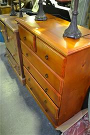 Sale 8013 - Lot 1037 - Pine Chest of Drawers
