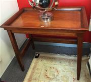 Sale 8310A - Lot 272 - A timber tray table