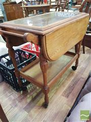 Sale 8495F - Lot 1092 - Dropside Tea Trolley