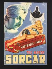 Sale 8539M - Lot 108 - The Great Sorcar: Mysteries of India show program. For P.C. Sorcar, c. 1950. Good condition, bright and with photographs throughout