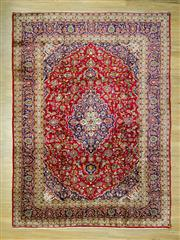 Sale 8585C - Lot 10 - Persian Kashan 345cm x 250cm
