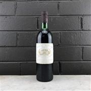 Sale 8987 - Lot 699 - 1x 1979 Chateau Margaux, 1er Cru Classe, Margaux - level at high shoulder, removed from original timber box