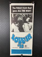 Sale 9003P - Lot 39 - Vintage Movie Poster - Love in 72