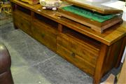Sale 8013 - Lot 1063 - Large Entertainment Unit