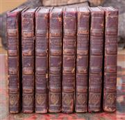 Sale 8568A - Lot 69 - Charles Lacaretelle, Histoire de France, 8 volumes, Paris, 1819